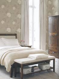 laura ashley isodore silver wallpaper bedroom eclectic bedroom