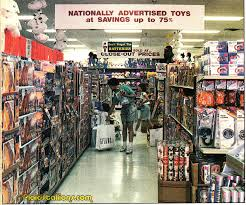 Vintage toy store 80's