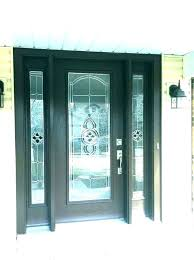 commercial glass entry door front for business signs full wood doors