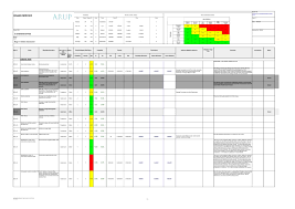 Electrical Design Analysis Example Electrical Design Electrical Design Risk Assessment Template