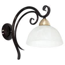 Wandleuchte Landhaus 1x E27 Max 60w Rustikale Lampe Wohnzimmer