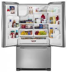 Amana® 25 Cu. Ft. French Door Bottom Freezer Refrigerator-Stainless ...