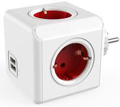 <b>Allocacoc Original USB</b>, Red сетевой <b>разветвитель</b> — купить в ...