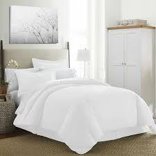 prime duvet set white