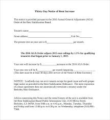 how to write a rent increase notice rent increase letter template svptraining info