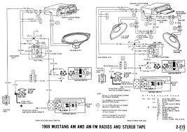 radio wiring diagrams ford laser stereo wiring diagram wirdig car mustang wiring diagrams and vacuum schematics average joe 1968 mustang wiring diagram radio audio