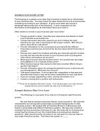 Sample Cover Letter Business Proposal Cover Letter Business Plan Cover Letter Business Form