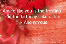 Birthday Quotes For Wife Fascinating Birthday Quotes For Wife