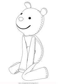 Disegno Topo Tip Teddy Misti Da Colorare