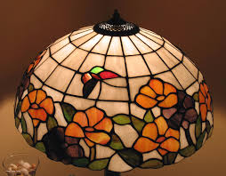 colored glass lamp shades