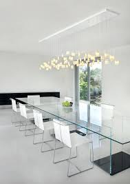 modern dining room lighting tulip modern dining room chandelier made from fused glass would look great