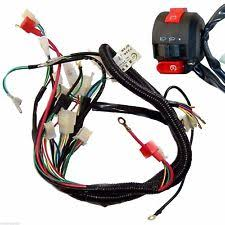 chinese wiring harness quad wiring harness handle bar switch fitted 50cc 110cc chinese electric start