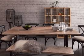 Industrial style furniture Rustic Toby Industrial Style Dining Table Oli Grace Toby Industrial Style Dining Table Industrial Chic Style Furniture