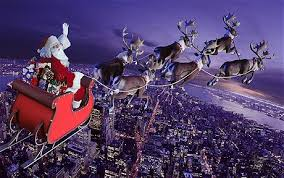 real santa claus and reindeer flying. Santa Claus Delivers Presents To All The Good Children In World But How And Why We Take Look At Science Of Christmas Gifts Real Reindeer Flying Telegraph