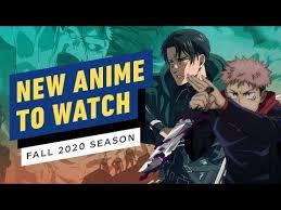 new anime to watch fall season 2020