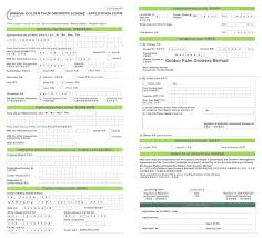 Application Form Example GoldenPalm Growers Scheme 14