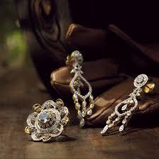 tanishq limited edition jewellery diamond earrings set