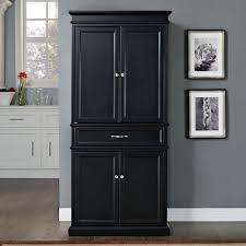 Black Kitchen Storage Cabinet Tall Black Kitchen Storage Cabinet