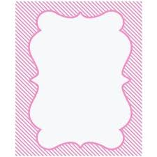 Invitation Boarders Baby Shower Border Paper Ideas On Foter