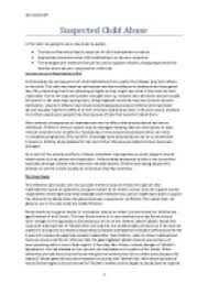 safeguarding children and young people this essay looks at how to  page 1 zoom in