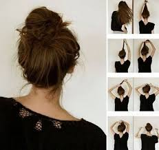 easy bun hairstyles step by latest fashion styles for