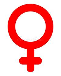 Icono Femenino Del Símbolo - Haber Redondeado Rojo, Aislado - Vector  Ilustración del Vector - Ilustración de sexual, redondeado: 134913779
