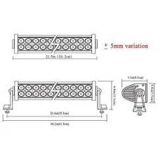 22& 034; 24 inch 280w cree spot flood combo led light bar offroad Cree Light Bar Wiring Diagram 22\