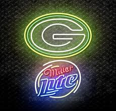 Miller Lite Packers Neon Sign Universities Sports Neon Sign For Sale Neonstation Page 24 12