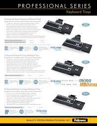 Fellowes Designer Suites Premium Keyboard Tray Fellowes Designer Suites Premium Keyboard Tray 8017901