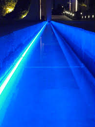 Swimming Pool Lights Walmart Linear Pool Lighting With Barthelme Underwater Led Strips