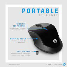 Amazon.in: Buy HP 250 Wireless Mouse (Black) Online at Low Prices in India