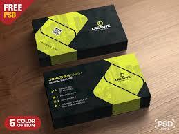 Free Design Business Cards Corporate Business Card Design Psd Psd Zone