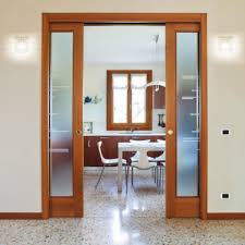 double sliding cavity door system