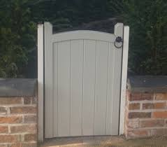 bow top garden gates the chappelwood by gates and fences uk painted finish