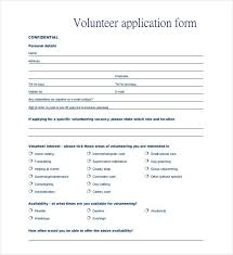 free application templates volunteer application template word free premium brochure design