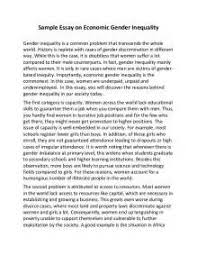 essay on evils of gender discrimination  essay on evils of gender discrimination