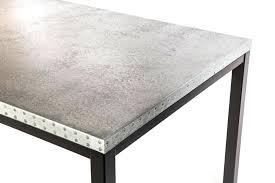 zinc top dining table 1 zinc top trestle table francesca zinc top round dining table 42