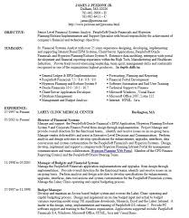21 Free Financial Analyst Resume Samples Sample Resumes