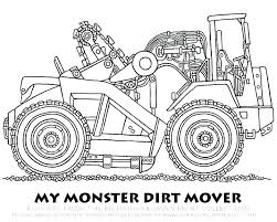 construction coloring pages free printables