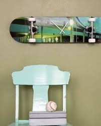 wall clock in the industrial style 19 diy home design ideas amazing skateboard s