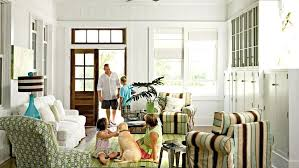 beach house furniture sydney. Beach House Furniture A Family Relaxes In This Living Room With Striped Arm Chairs . Sydney