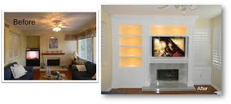 built in entertainment center with fireplace. Entertainment Center Expert Built In With Fireplace N