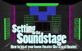 Small Picture Article Setting the Soundstage How to treat your home theater