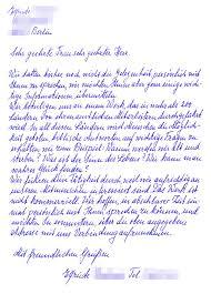 Best Photos Of Handwritten Letter Example Handwritten Cover Letter
