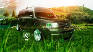 scion xb crystal nature car