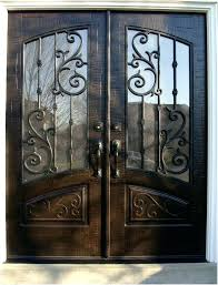 double front doors. Double Front Doors A Finding Wrought Iron Entry  .