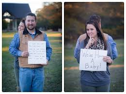 Photo Shoot Captures Moment When Wife Surprises Husband With Baby