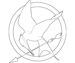 1 The Hunger Games Coloring Page Az Colorare
