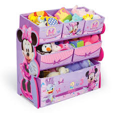 Minnie Mouse Bedroom Furniture Toy Storage Organizer Multi Bin Minnie Mouse Disney Furniture Box
