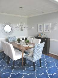 S Rug Under Dining Room Table Awesome Chair Above Rectangle Blue  For